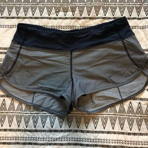 "Lululemon • Speed Shorts 2.5"" • Blue"